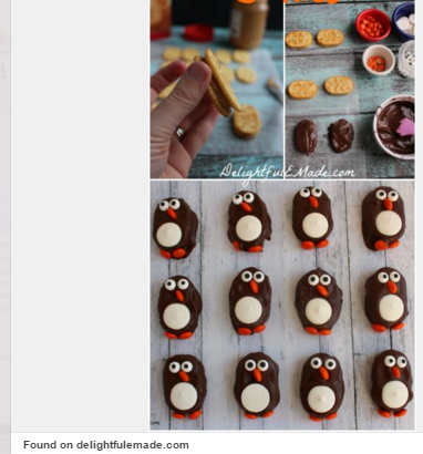 cookie penguins